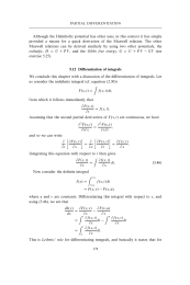 Differentiation of integrals
