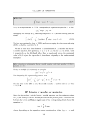 Estimation of eigenvalues and eigenfunctions