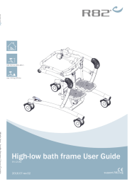 High-low bath frame User Guide