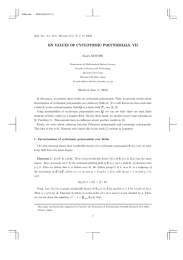 ON VALUES OF CYCLOTOMIC POLYNOMIALS. VII